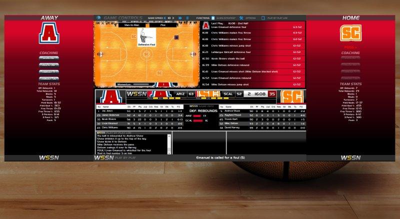 选秀日体育学院篮球3截图第4张