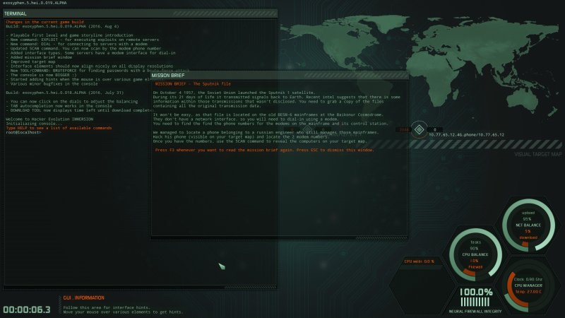 Hacker Evolution IMMERSION截图第1张
