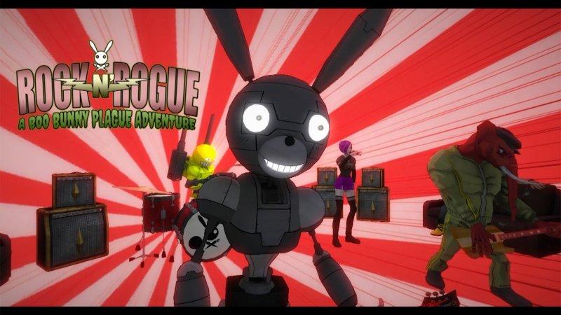 摇滚流氓:一个小兔子瘟疫的冒险截图第1张