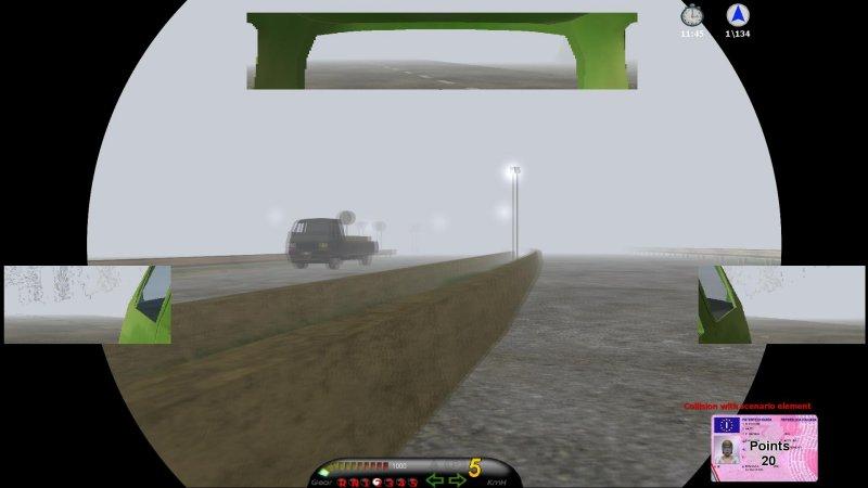 安全驾驶模拟器:汽车截图第1张