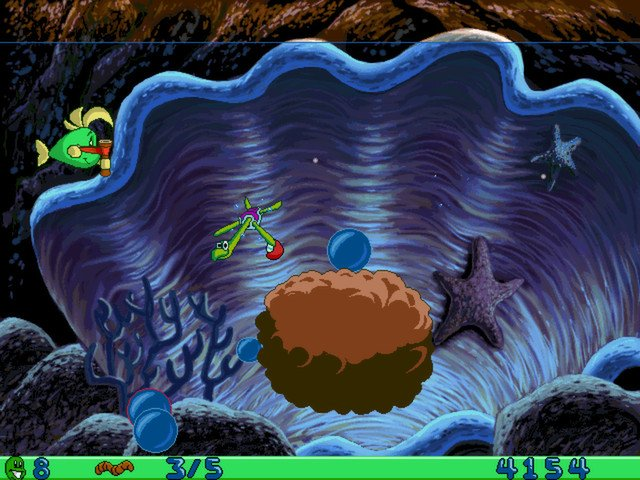 Freddi Fish and Luther's Water Worries截图第4张