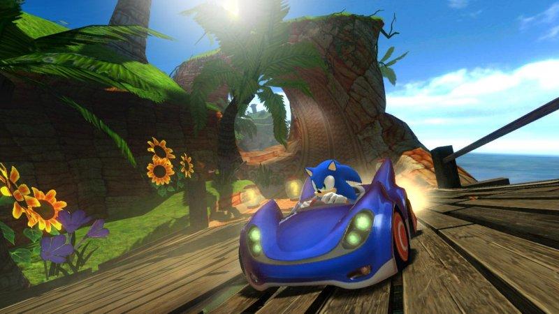 Sonic&SEGA全明星赛车截图第5张