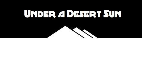 在沙漠的阳光下