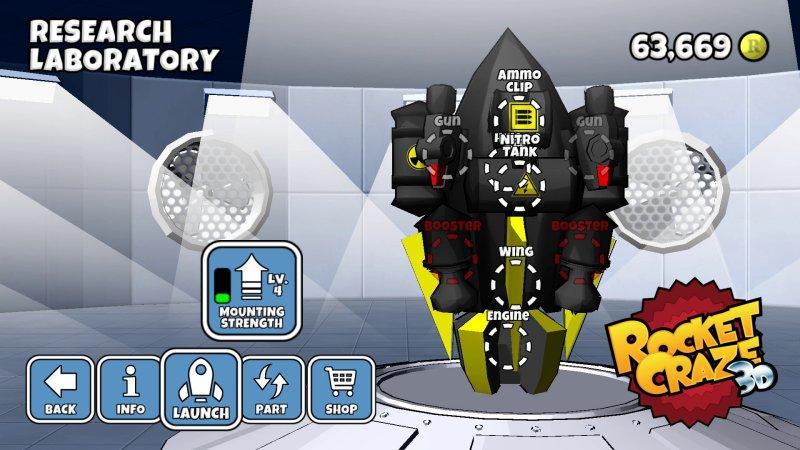 疯狂火箭3D截图第3张