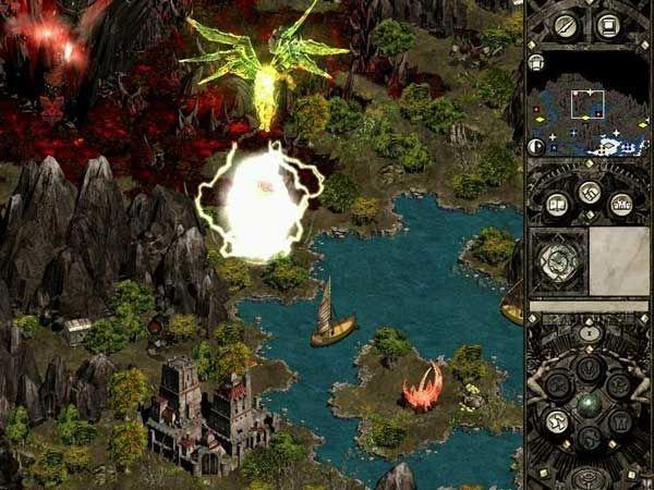 圣战群英传II:精灵之崛起截图第2张
