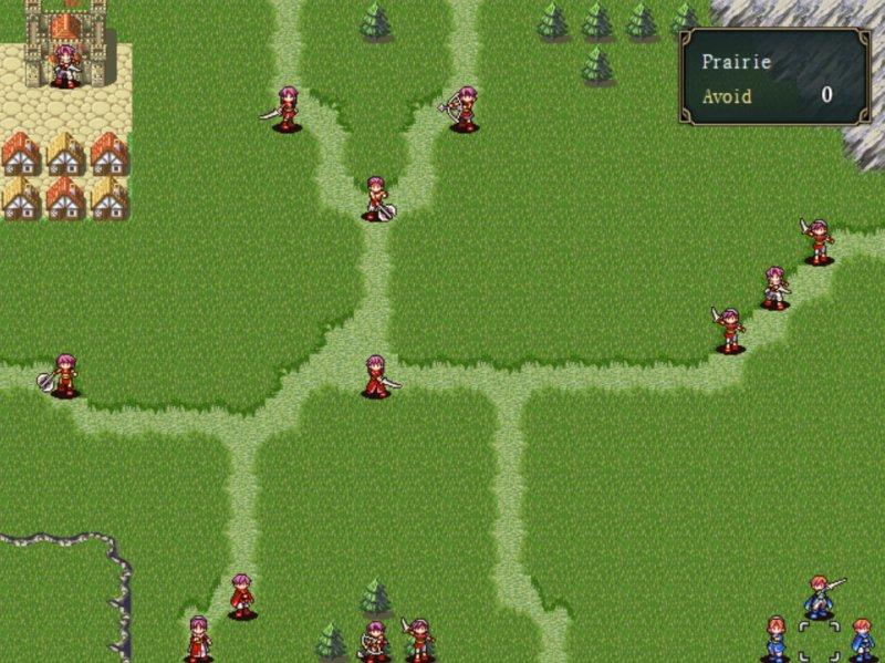 深红剑传奇:战术截图第12张
