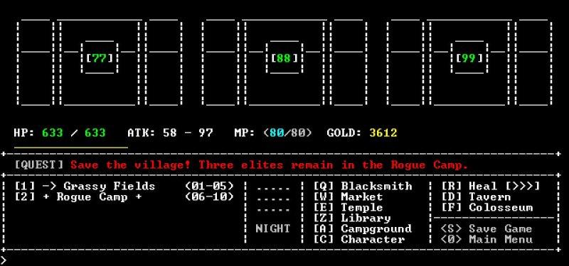 圣域RPG:黑盒版截图第3张
