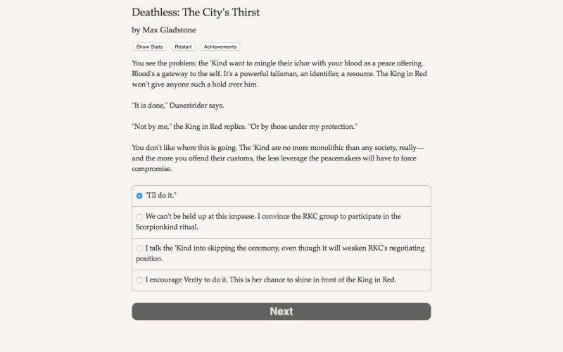 死亡:城市的渴望截图第5张
