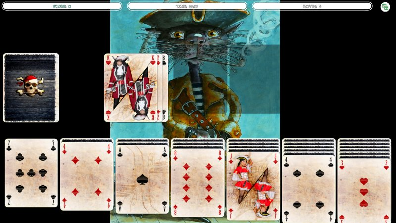 单粒宝石 - 猫海盗肖像截图第8张