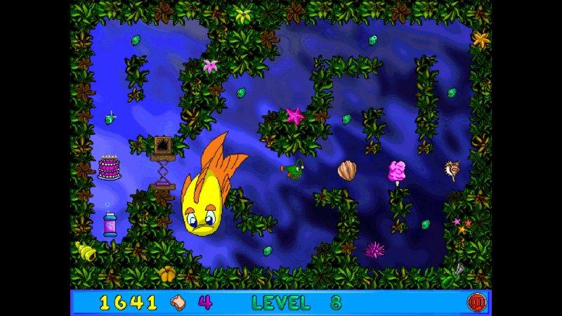 弗莱迪小鱼和卢瑟的迷宫的疯狂截图第3张