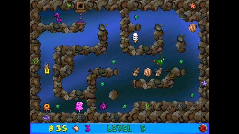弗莱迪小鱼和卢瑟的迷宫的疯狂截图第1张