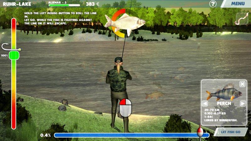 3D渔夫钓鱼截图第2张