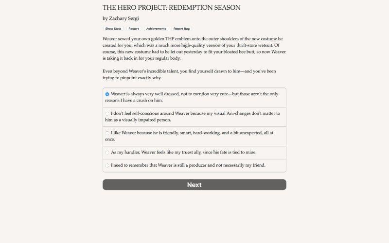 英雄项目:救赎的季节截图第2张