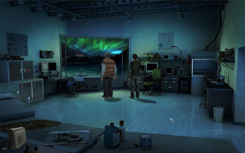 阿尔法北极星:一款恐怖冒险游戏截图第3张