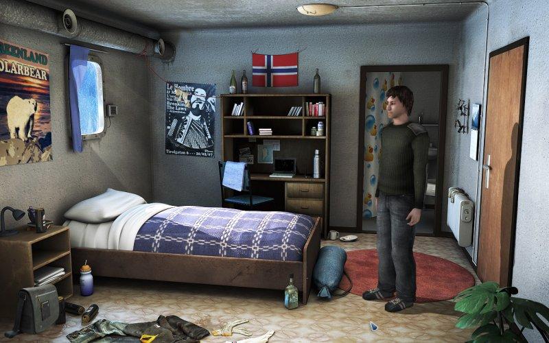阿尔法北极星:一款恐怖冒险游戏截图第2张