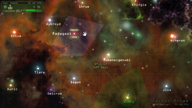 奇异世界:重返无尽的太空截图第2张