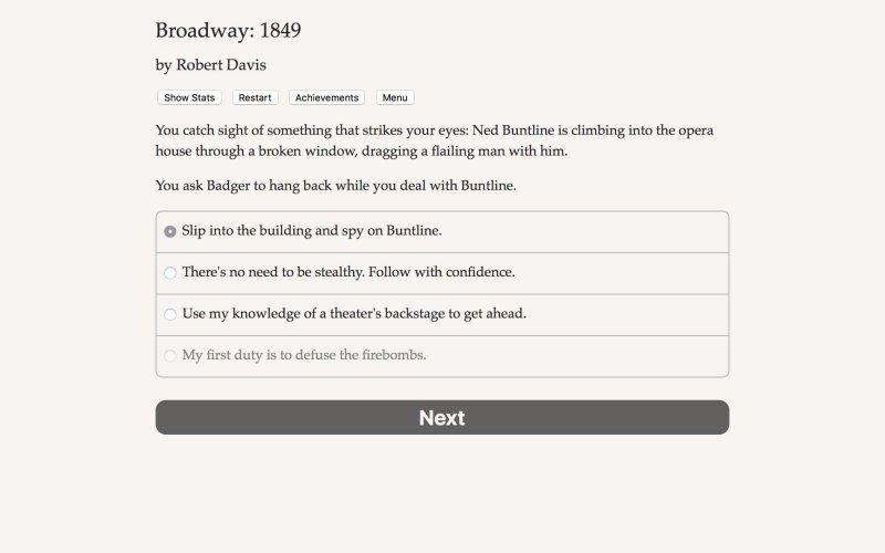 百老汇:1849年截图第4张