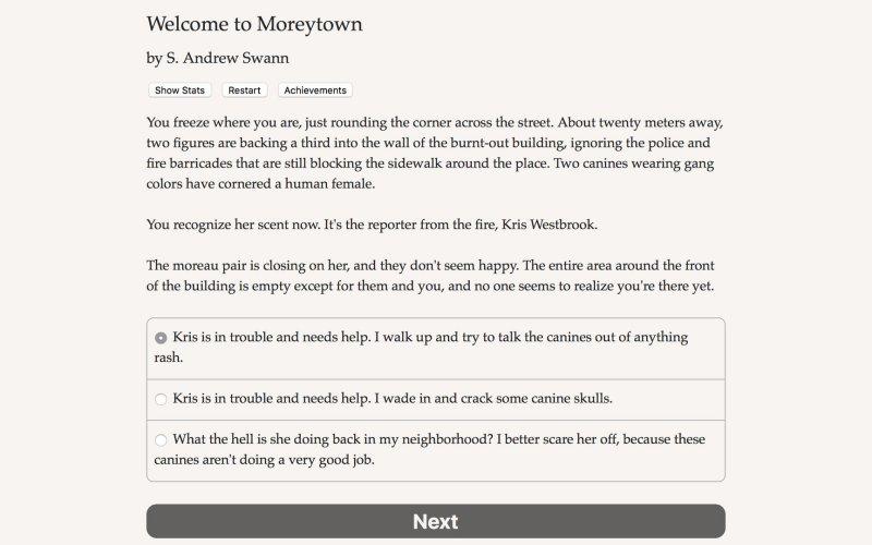 欢迎来到莫雷镇截图第4张
