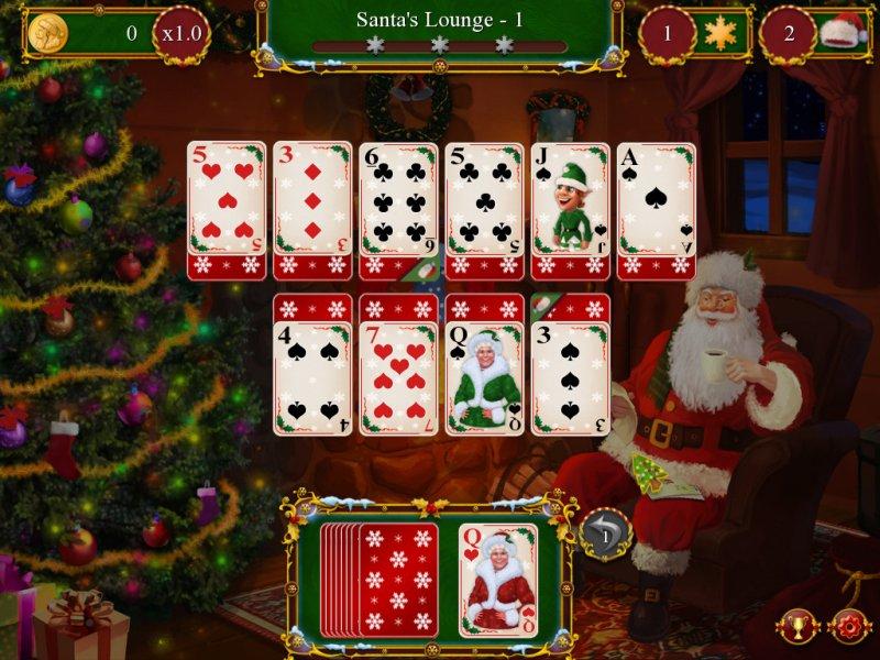 圣诞老人的圣诞接龙截图第1张