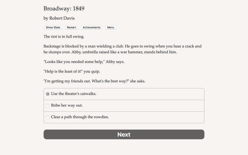 百老汇:1849年截图第3张