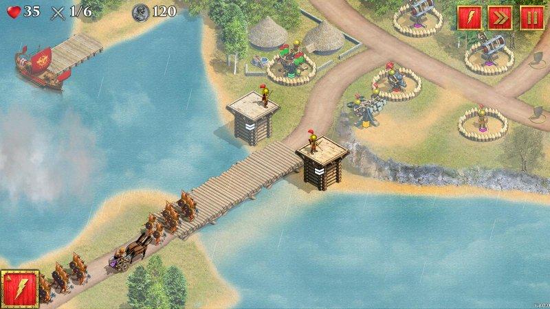 英国罗马防御战截图第3张
