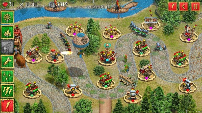英国罗马防御战截图第2张