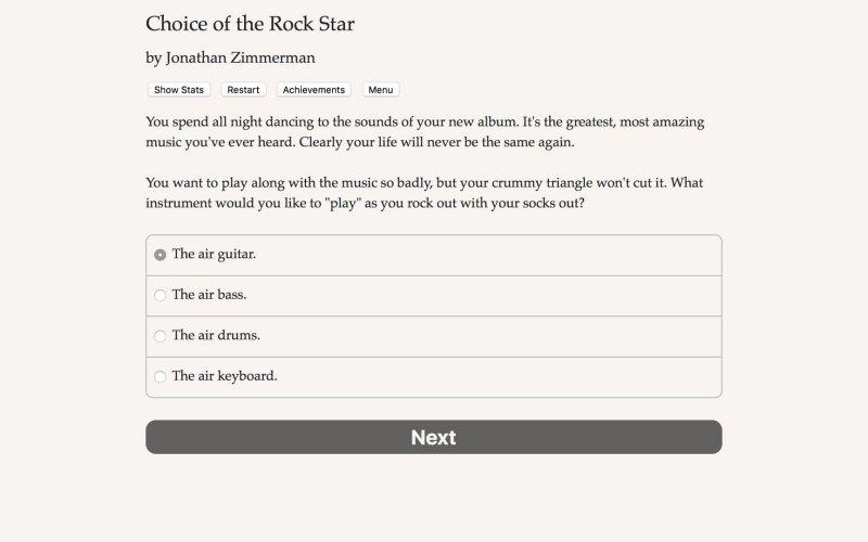 摇滚明星的选择截图第1张