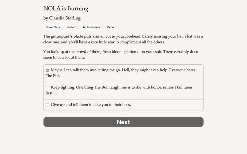 NOLA is Burning截图第1张