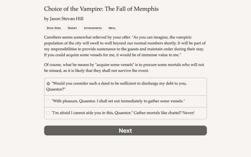 吸血鬼的选择:孟菲斯的堕落截图第3张