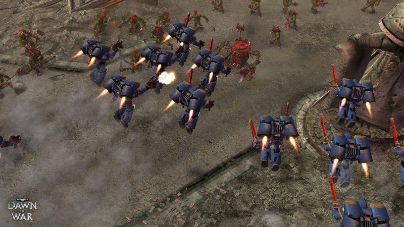 战锤 40,000: Dawn of War 战争黎明截图第3张