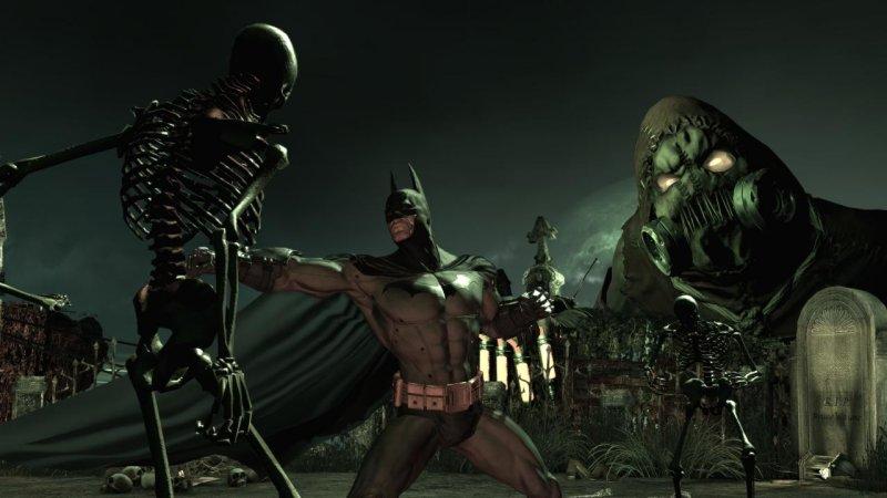 蝙蝠侠:阿卡姆疯人院截图第4张