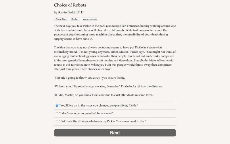 机器人的选择截图第5张