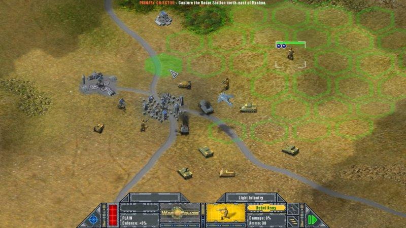 在Folvos上的战争截图第1张
