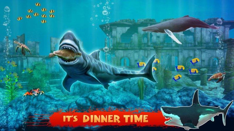 蓝鲸2017 - 饥饿的鲸鱼游戏截图第2张