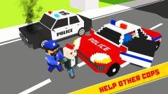 警察英雄救援:流氓大队追逐截图