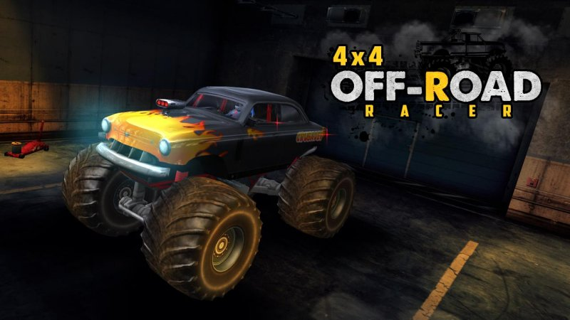 4X4 OffRoad Racer - Racing Games截图第3张