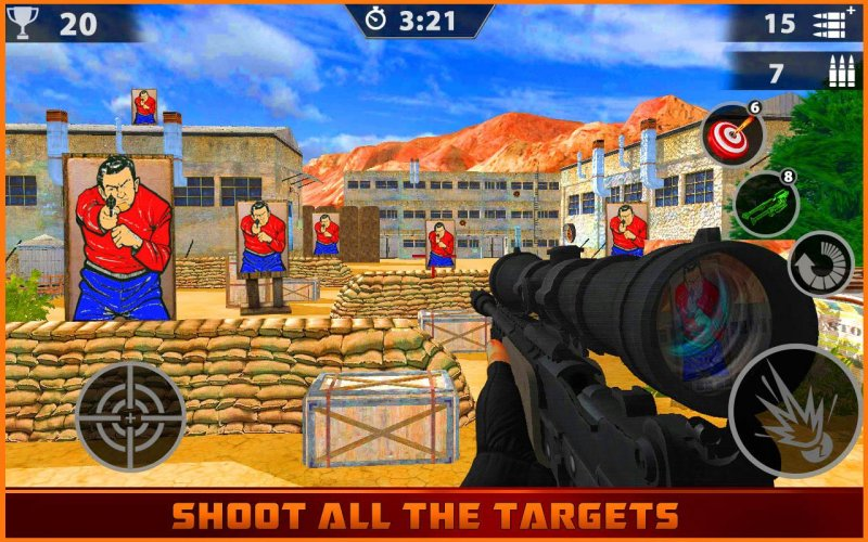 Target Range Shooting Master deluxe截图第2张