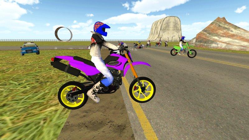 自行车骑士vs Cop Car City Police追逐游戏截图第2张