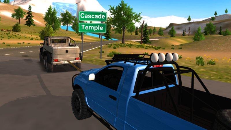 6x6 Offroad Truck Driving Simulator截图第2张