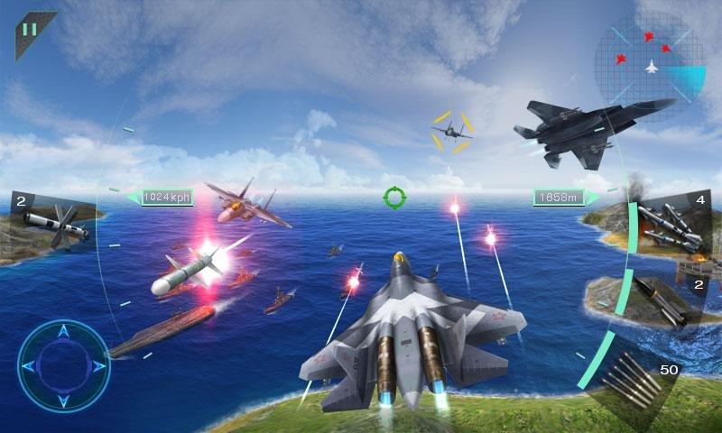 空中決戰3D - Sky Fighters截图第1张