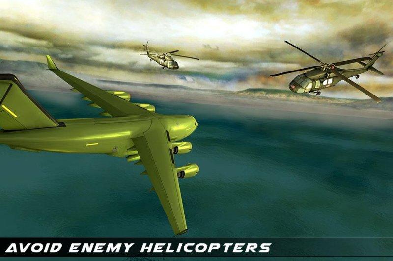 美国陆军运输游戏 - 陆军货运和坦克截图第2张