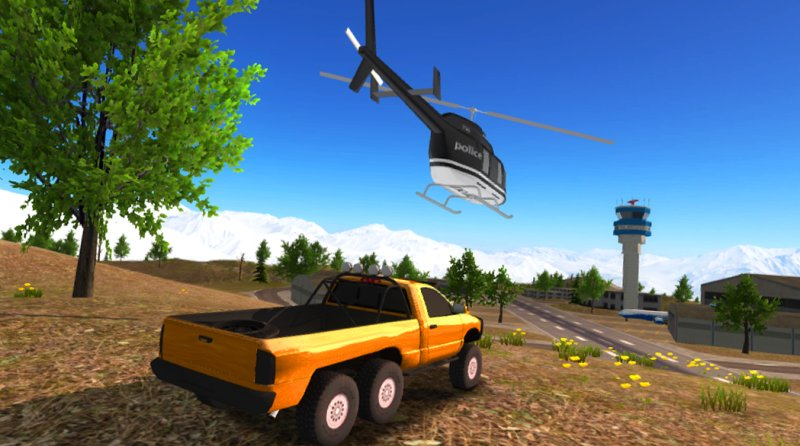 6x6 Offroad Truck Driving Simulator截图第3张