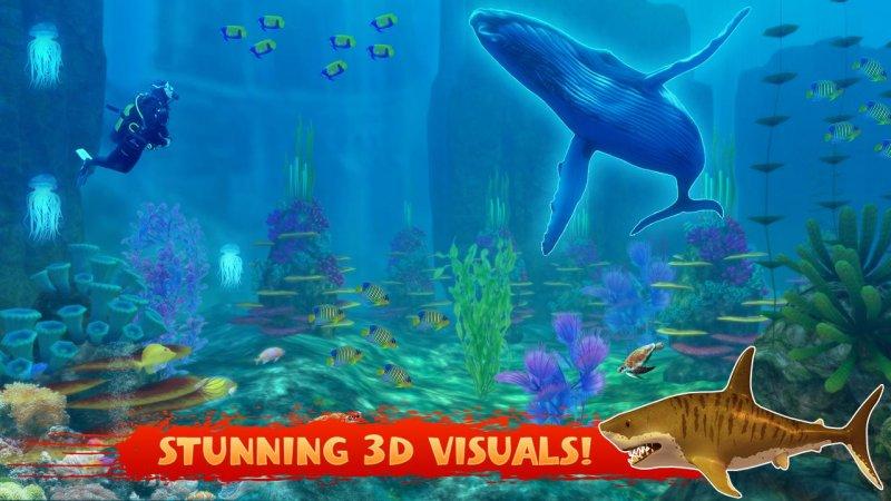 蓝鲸2017 - 饥饿的鲸鱼游戏截图第4张