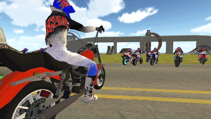 自行车骑士vs Cop Car City Police追逐游戏截图第3张