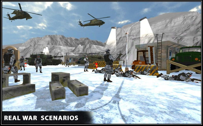 Snow War Shooter 2017截图第4张