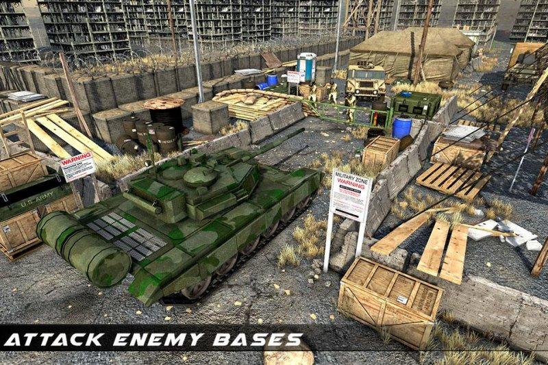 美国陆军运输游戏 - 陆军货运和坦克截图第3张