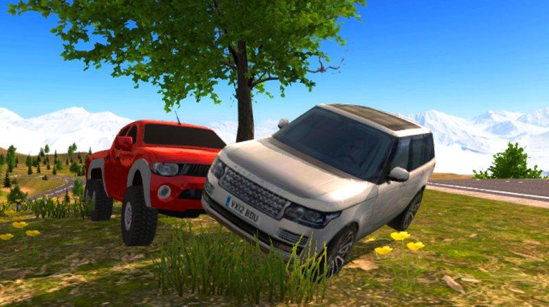6x6 Offroad Truck Driving Simulator截图第4张