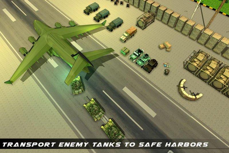 美国陆军运输游戏 - 陆军货运和坦克截图第4张