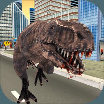 野生恐龙模拟器城市攻击