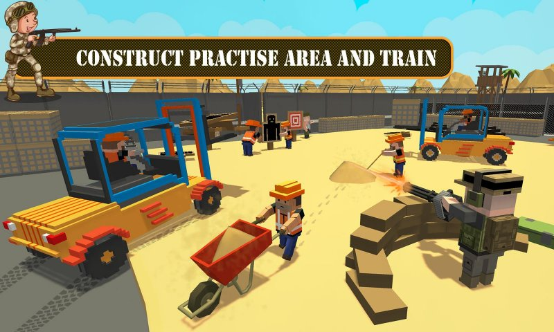 陆军基地建设:工艺建筑模拟器截图第1张